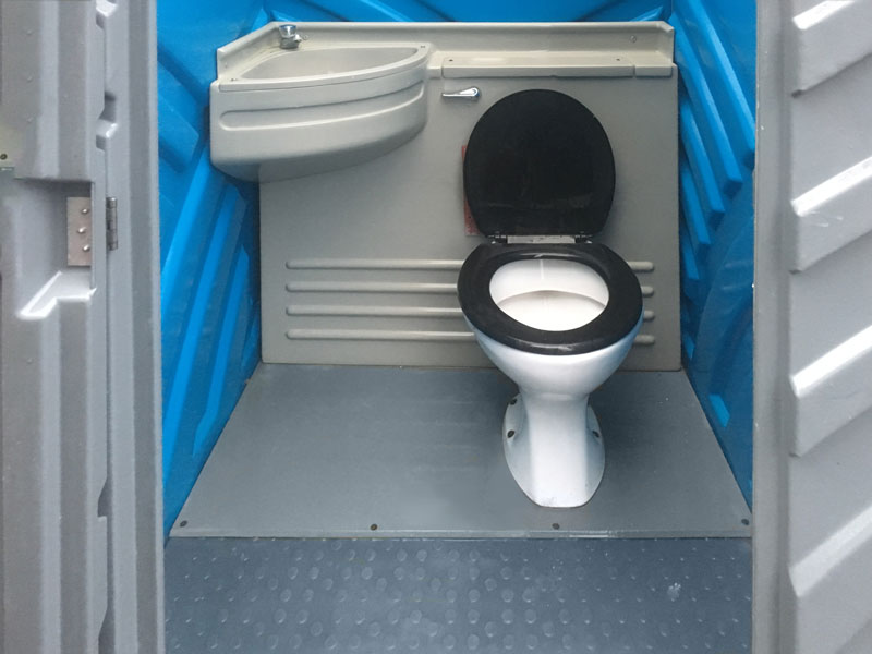 Wycombe Toilet Hire Mains Unit interior